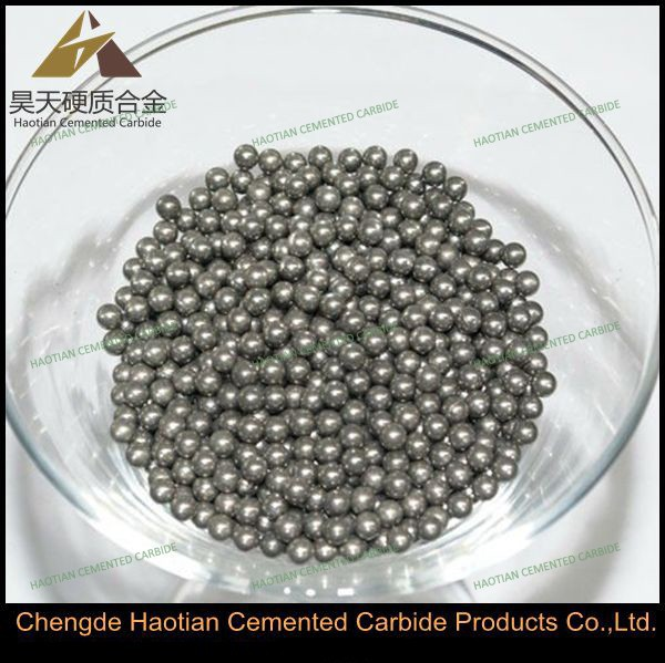 Various size tungsten carbide pen ball