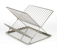 clean folding foldaway foldable dish rack