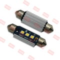 C5W Auto LED License Plate Light Bulb , Free Error SV8.5 Festoon Canbus LED