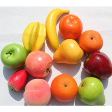 Wholesale decorative Plastic/fake/artificial fruit for home decorations