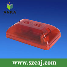 DC12V external flashing siren alarm