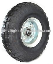 "Solid Rubber Wheel 10"",3.50-4"