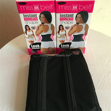 The Miss Belt claims to give women 'The perfect waistline in seconds' - Look slimmer with dual compression technology