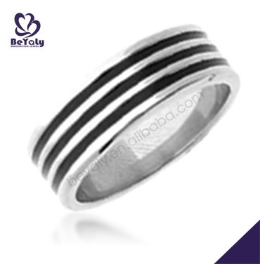 2015 cheap price jewelry 316l stainless steel wood ring