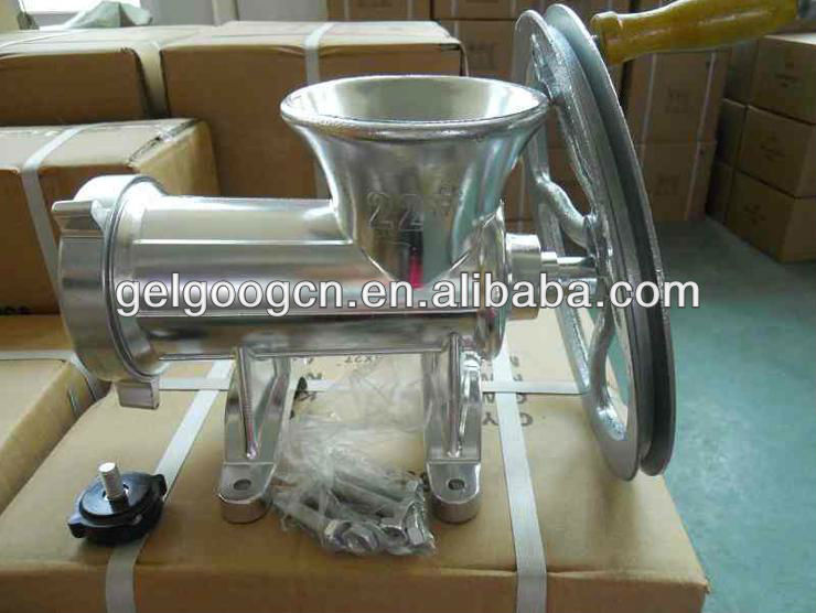 GG-22 size manual meat grinder/ meat mincer/hand meat grinder