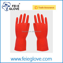Natural Latex Chemical Resistant Gloves, Strong Acid, Alkali and Oil Resistant