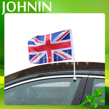 Promotion Customized Polyester Union Jack British UK Auto Car Window Flag