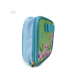 Popular cosmetic bag nylon make up bag for girls