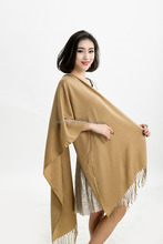 High quality Winter Brand Classic style cashmere feel pashmina scarf