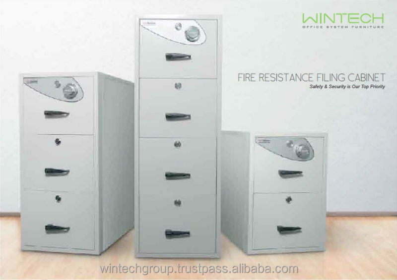 Fire Resistant Filing Cabinet With High Quality Manufacturing in Malaysia
