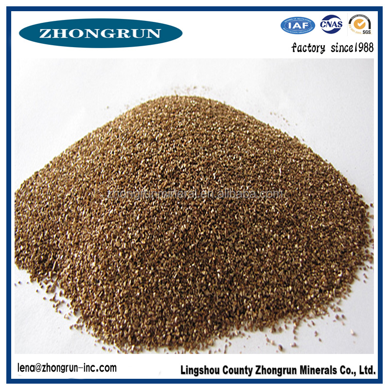 gold bulk vermiculite price/expanded vermiculite from factory free sample