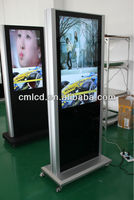 New Arrival ! 42 Inch Easy Moving LCD Totem 2013 Innovative Advertising Products