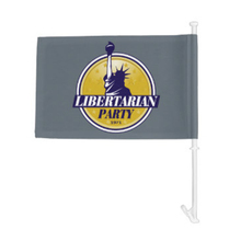 waterproof 12x18 inches logo car flag