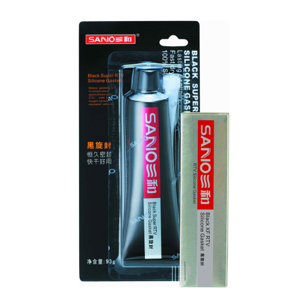 Black RTV Silicone Sealant
