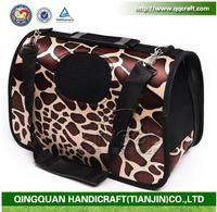 Wholesale various portable Soft Sided Pet Carrier Airline Travel Cat/Dog Small Animals Tote Bag
