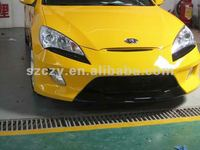 PU&FRP body kit for hyundai rohens-coupe (genesis coupe) bodykit