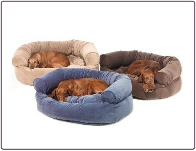 Snoozer Overstuffed Luxury Pet Sofa Bed Dog Beds
