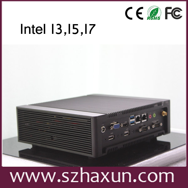 Industrial Computer I3,I5,I7 quad core 3.3Ghz Windows XP Computer with HDD 1TB,8GB DDR3,Industrial mini pc K700