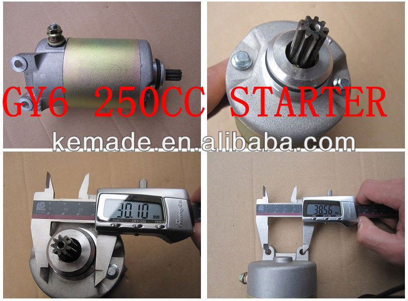 High Quality Scooter 250CC Starter Motor
