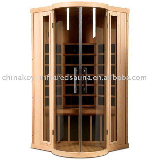 Single carbon far infrared sauna