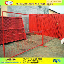 6ft x 10ft canada construction temporary fence panel hot sale