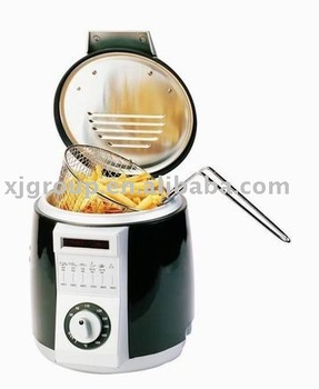 Electric Mini Deep Fryer XJ-2K959