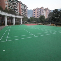 Wholesale Synthetic Badminton Court Tiles Mat Sports Flooring
