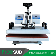 Sunmeta Dual-core Flat-bed T-shirt heat press machine, Iron-on heat press