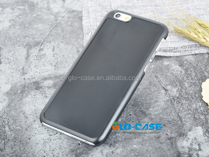 Blank Hard Plastic Case with Groove for iPhone 6