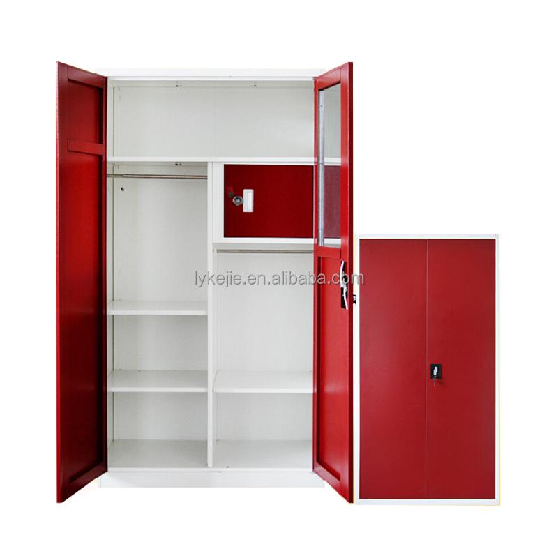 Wholesale Storage Closet Godrej Almirah Design With Price Metal Cupboard Metal Wardrobe Cupboard
