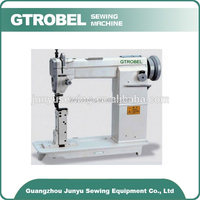Single/Double Needle Roller shoe making Post bed Lockstitch Sewing Machine