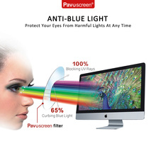 "For Toshiba Satellite C 15"" Screen Protector w/ HD Blue Light UV Filter / Clear Film / Anti- Anti- Fingerprint / Anti-Bubble"