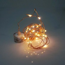 Submersible led copper wire string lights fairy string lights