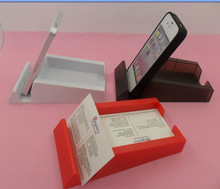office gift sets multifunctional desk card holder with phone support