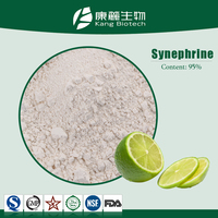 GMP Factory 100% natural methyl synephrine hcl powder,98% synephrine hcl