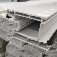pvc profile for kitchen cabinet door/roof gutter system