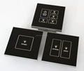 1/2/3/4/5/6 Gang Electronic Touch Panel Switch for Luxury Hotel Room