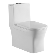 Hot Sell Siphon Flushing Floor Mounted P-Trap Toilet