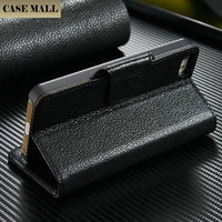Wholesale for iphone 5 genuine leather wallet case pouch for iphone5