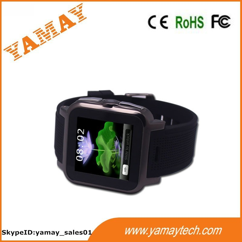 High quality new 3g smart watch with 600Mah Li-ion battery