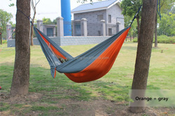 Camping Hammock - Includes Hanging Gear (Aluminum Wire Gate Carabiners & Nautical-Grade Rope)