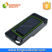 Wholesale alibaba grade A battery 2600mAh solar phone charger case for iphone 6 6s