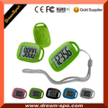 Slim 3D Pedometer with belt clip for walking jogging