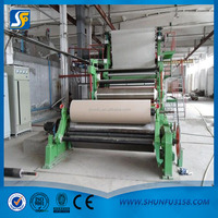 high quality fluting paper machine for making rolling paper making machine price