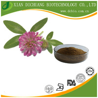 100% natural herbal medical Red Clover extract powder 40% Isoflavones HPLC