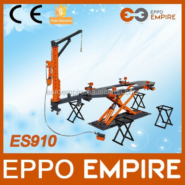 2015 new CE approved high quality frame machine/auto body equipment/used hydraulic car jack