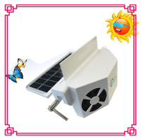HF-606(2) solar powered auto exhaust cool solar power car fan