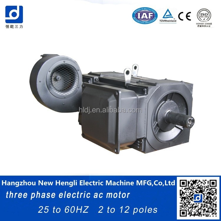 180kw air cooled spindle motor ac for bakelite injection molding machine