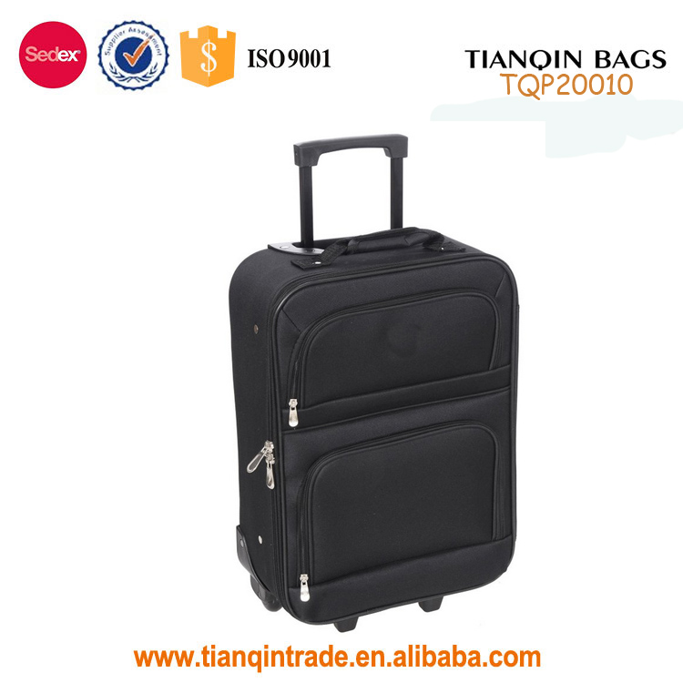 Lighted abs Trolley Travel Upright Luggage Sets cheap hard shell suitcase/valise travel
