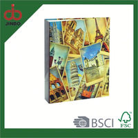 High Quality full color ring binder with 4C Printing